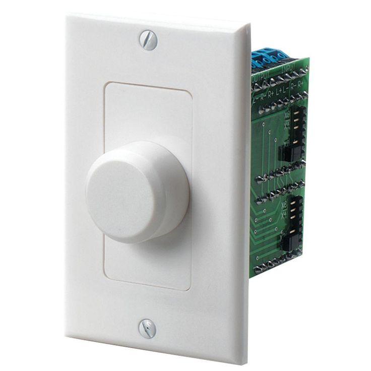 Impedance-matching Volume Control