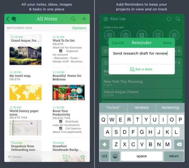 Evernote notification widget is here now, the smart app that is specially designed to for taking quick action. For more detail visit.