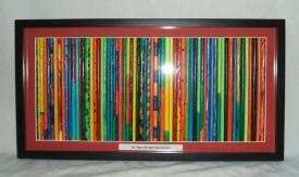 """Class Project-individual sticks decorated by class-framed together- """"Stick Together"""""""