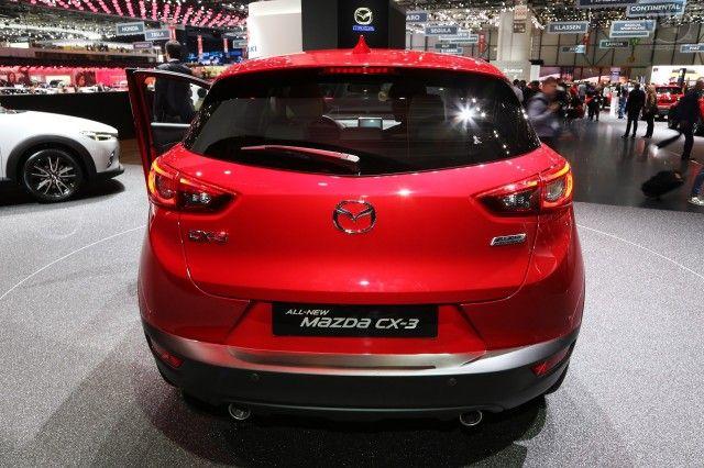 Mazda CX-3 @ Geneva 2015