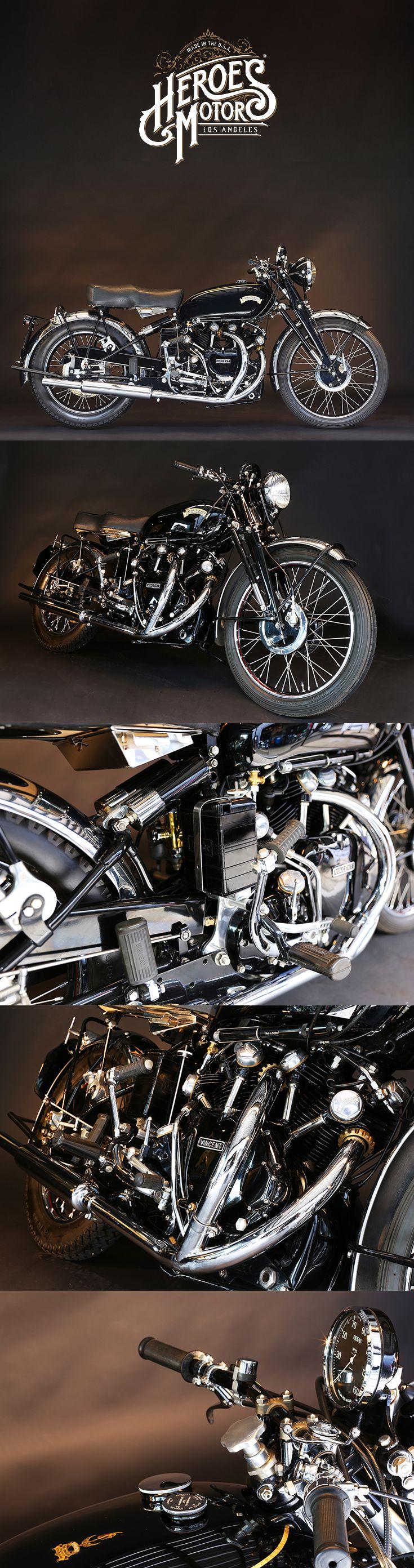 1951 VINCENT 1000cc BLACK SHADOW