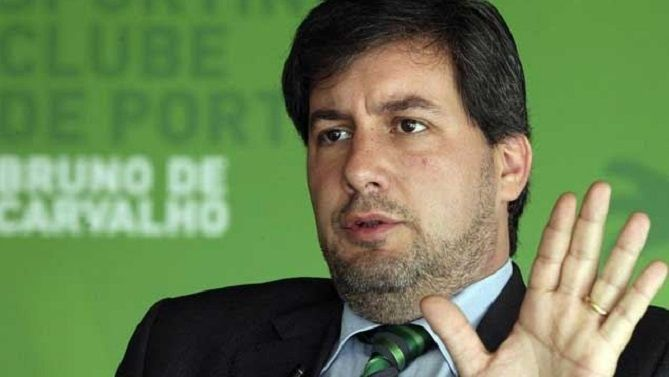BRUNO DE CARVALHO, Sporting's President. He has many enemies in Portugal, and the portuguese media -aligned with benfica and porto - tirelessly try to make him look like 'the bad guy' in portuguese football. But, abroad, his efforts are beying well recognized. Gog bless you, Sir. http://iusport.com/not/13220/el-sporting-de-lisboa-lidera-una-cruzada-contra-los-fondos-de-inversion