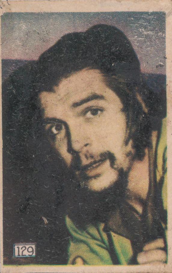 Che Guevara, ca. 1959; figurina Cinegrafico, donazione Motta