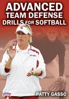 Advanced Team Defense Drills for Softball - with Patty Gasso, University of Oklahoma Head Coach;  2013 WCWS Champions; first ever WCWS champion to lead the nation in scoring and ERA;  Distinguished member of the National Fastpitch Coaches Hall of Fame (2012); Back-to-Back Big 12 Coach of the Year (2012-13); 6x Big 12 Coach of the Year;  2012 WCWS Runners-up, 2000 WCWS Champions, Over 1,000 career victories