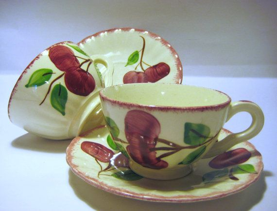 Blue Ridge Southern Potteries Crab Apple & 195 best Blue Ridge/Southern Potteries images on Pinterest | Blue ...