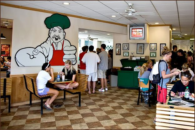After closing the bar at Bentley's, your first stop the next morning is Bagel Place. For a Terrapin.   22 Signs You Went To The University Of Maryland