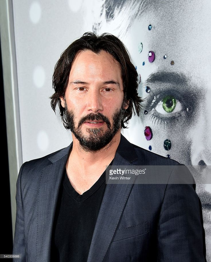 Actor Keanu Reeves arrives at the premiere of Amazon's 'The Neon Demon' at the Arclight Theatre on June 14, 2016 in Los Angeles, California.