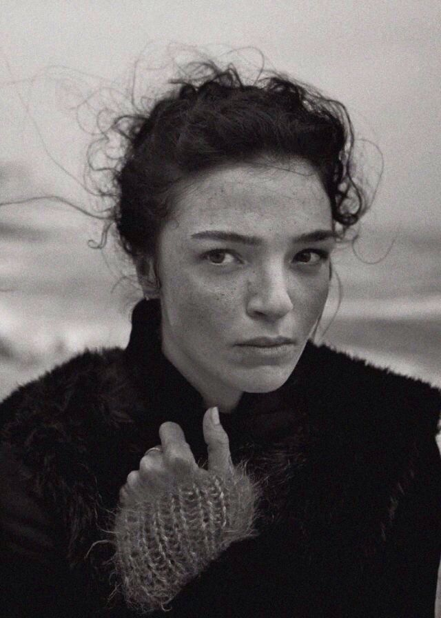 Mariacarla Boscono by Peter Lindbergh for Vogue Italia September 2014