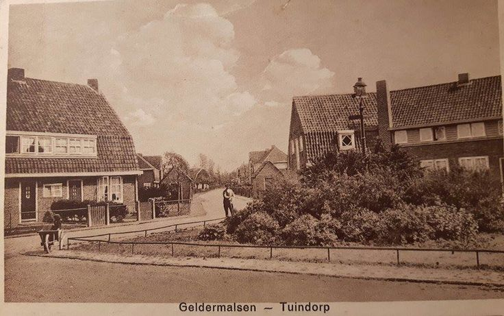 Tuindorp Geldermalsen (jaartal: 1930 tot 1940) - Foto's SERC