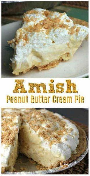 Amish Peanut Butter Cream Pie Recipe | Family Reci…