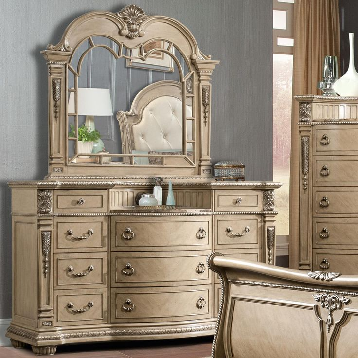 Monaco Dresser Home Bedroom Furniture I Like Pinterest Monaco Dressers And Mirror