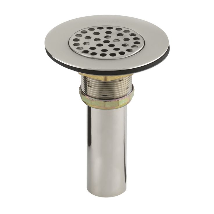 Brass Sink Strainer With Tailpiece For 3 1/2