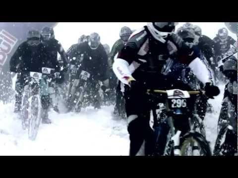 Epic downhill mountain bike race - Red Bull 5000 Down - VIDEO - http://mountain-bike-review.net/mountain-bikes/epic-downhill-mountain-bike-race-red-bull-5000-down-video/ #mountainbike #mountain biking