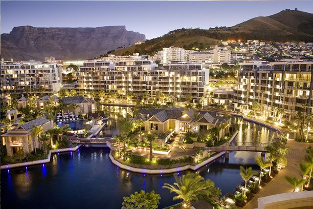 Luxury residential development at V&A Waterfront in Cape Town