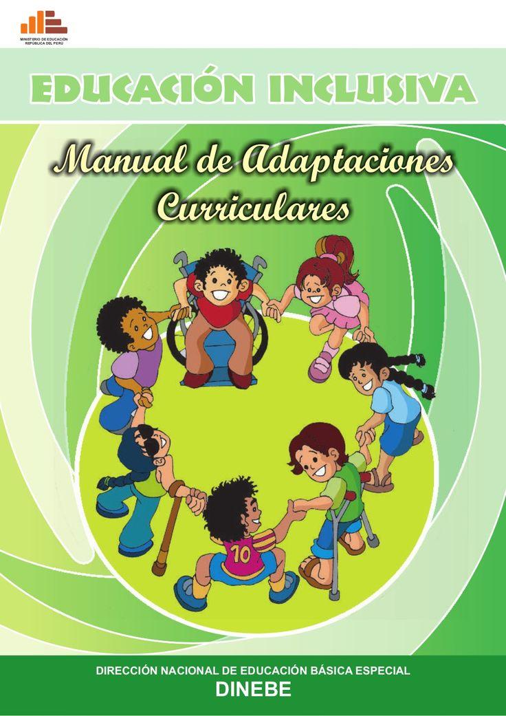 Manual de Adaptaciones curriculares by Mariela Falabella via slideshare