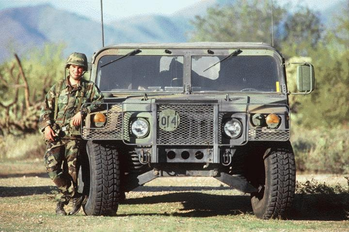 M1025A2 HMMWV by AM General for the US Army is the latest military vehicle used for rescue and combat situations throughout the world. The 4X4 vehicle is capable of traversing any environment while maintaining the safety required of a job well done.