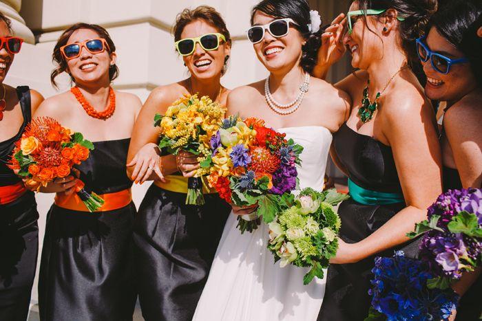 Rainbow Wedding - Florals By Pixies Petals -   Christine Farah Photography