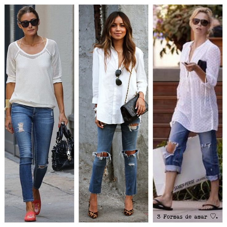 3 formas de amar jeans destroyed !!
