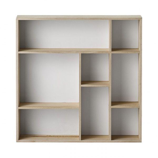 étagère carrée casier Bloomingville - Deco Graphic