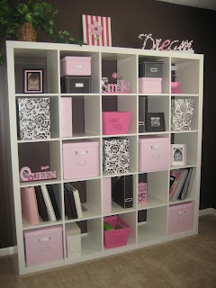 This is so me....only if pink was the color in my home!