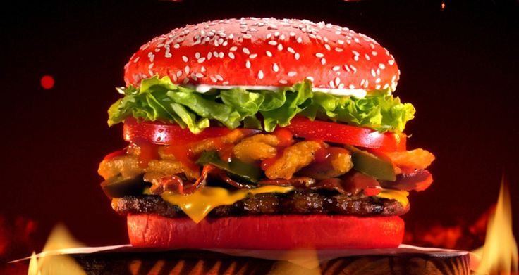 """Burger King's new """"Angriest Whopper"""" has a hot sauce-infused bun!"""
