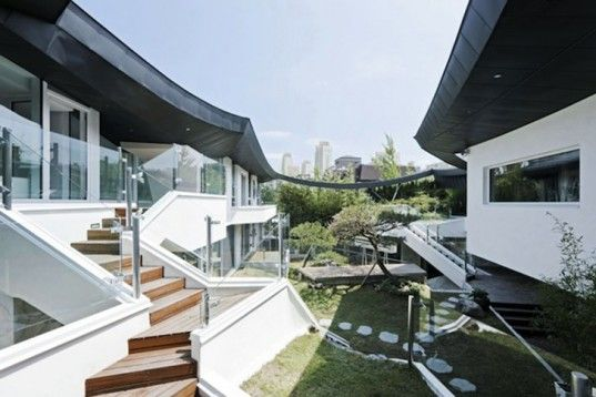 IROJE KHM, GaOnJai Home, South Korean architecture, Korean inner court, green core home, Architecture, Daylighting,