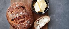 If you love making you own bread, this recipe is for you! The dark rye flour and sweet dates are a perfect pairing and this dark loaf goes brilliantly with cheese.