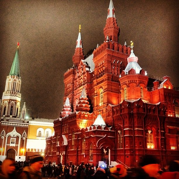 Государственный исторический музей / The State Historical Museum in Москва