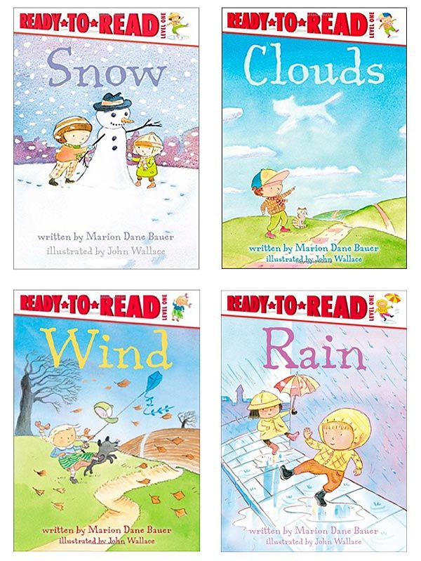 Books on Weather for Kids in K-8