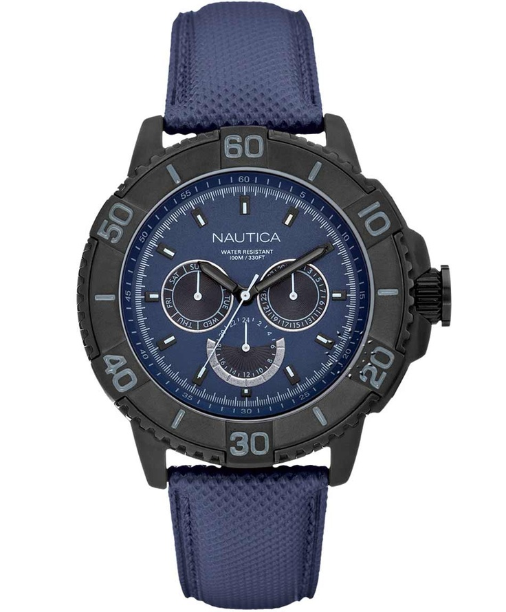 NAUTICA Multi Blue Rubber Strap Μοντέλο: A18644 Η τιμή μας: 238€ http://www.oroloi.gr/product_info.php?products_id=33545