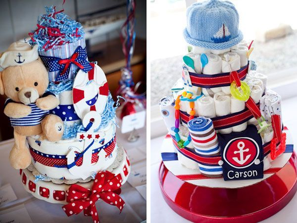 Beautiful Bump Smitten: Real Baby Shower: Ahoy Itu0027s A Boy