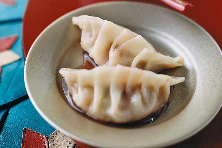 Pot sticker dumplings