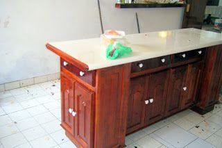 Barra para desayunador madera de cedro cosas para for Barra bar madera dibujo