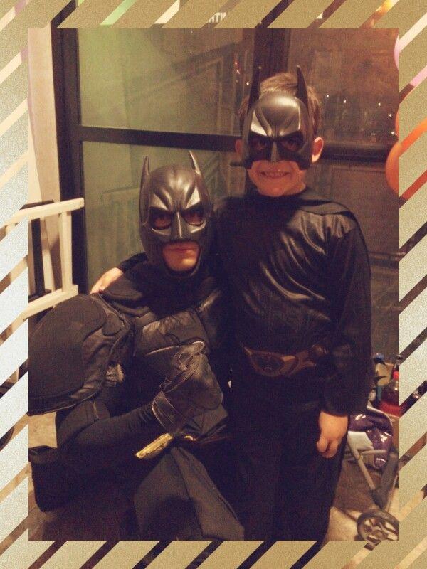 Batman y santi