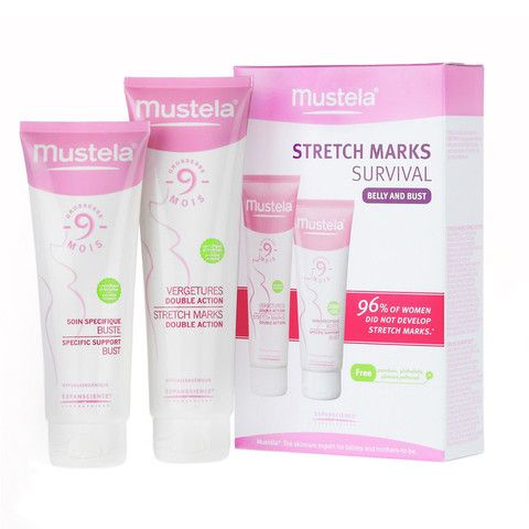 Mustela Stretch Mark Survival Kit - From Here to Maternity & Baby