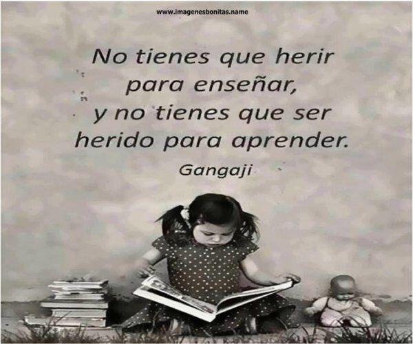 Enseñar y aprender son dos palabras que no tienen mucha diferencia...