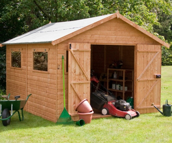 Learn to build shed: Organizer Build shed your-own