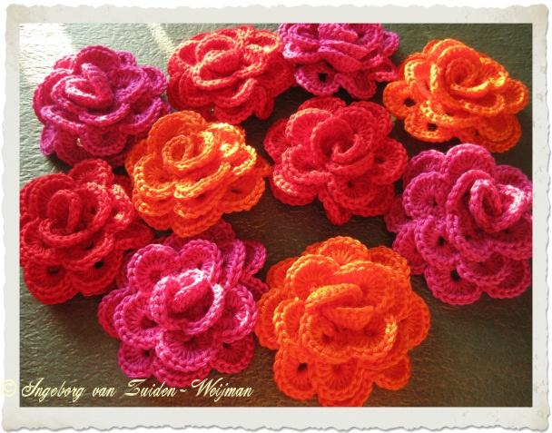 crochet rose   Flickr - Photo Sharing!