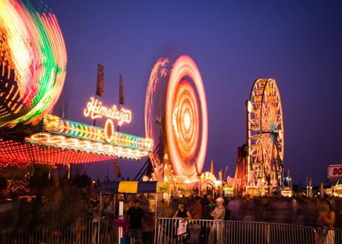 Manèges Festival de montgolfières