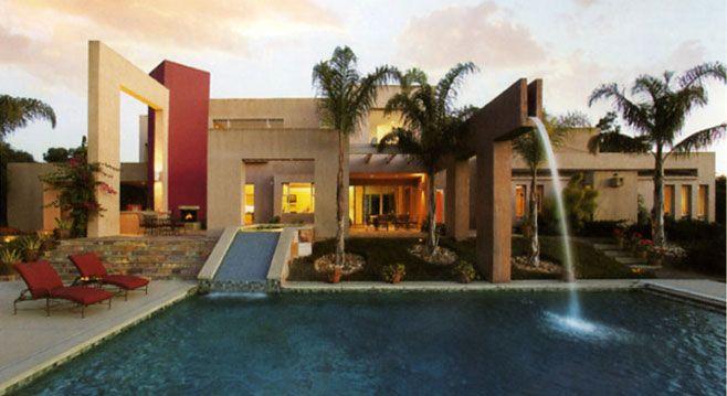 Santa BarbaraSwimming Pools, Spirals Staircases, Santa Barbara, Contemporary House, Future House, Dreams House, Pictures, Hot Tubs, Water Parks