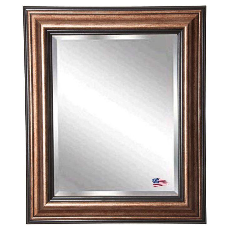 Rayne Mirrors Canyon Black Wall Mirror - R029MS2