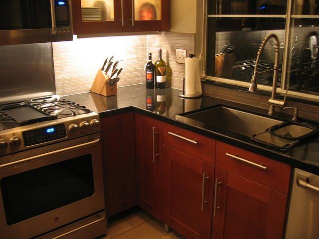 Best Ikea Adel Medium Brown With Black Granite Neutral Floors 400 x 300