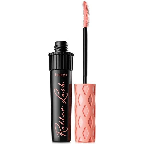 Benefit Cosmetics roller lash super curling & lifting mascara ($24) ❤ liked on Polyvore featuring beauty products, makeup, eye makeup, mascara, beauty, lips, filler, black, benefit mascara and benefit eye makeup