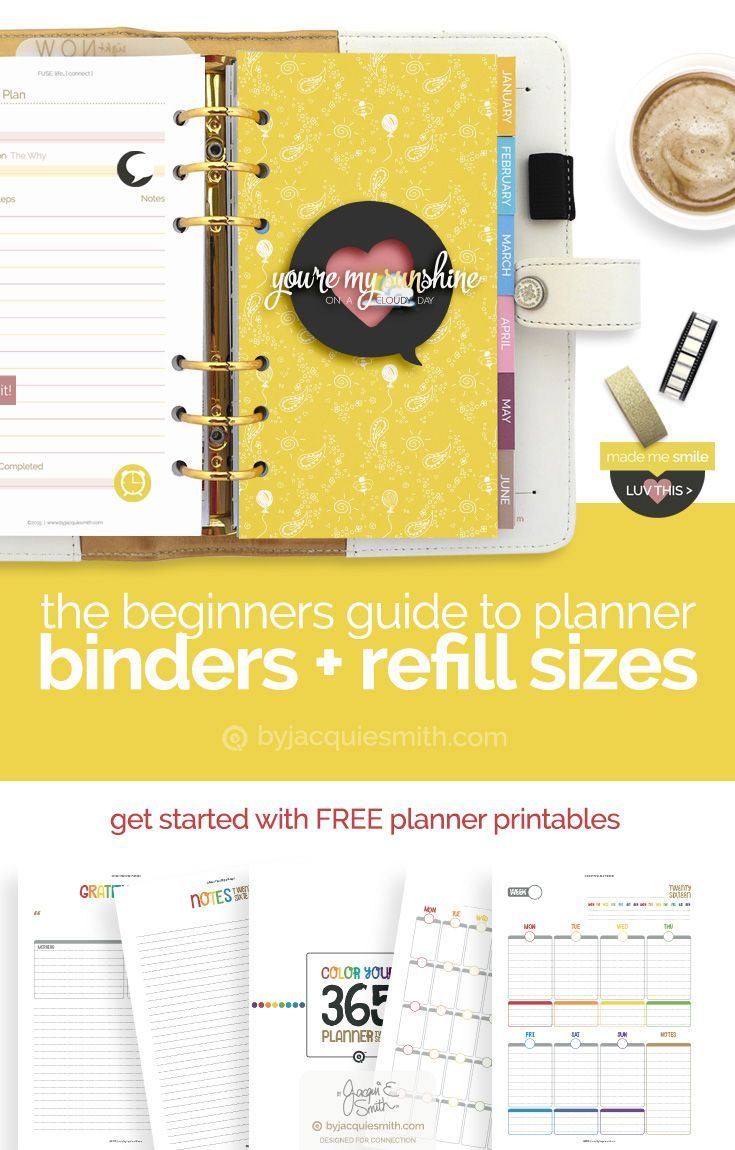 how to make your own planner pages