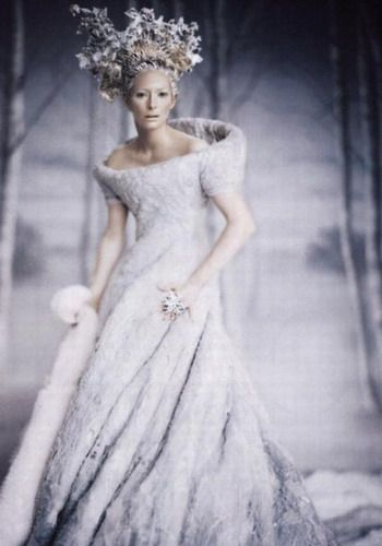 Tilda Swinton as the Witch, Jadis