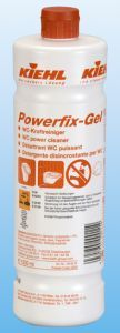 Powerfix Gel Kiehl pentru indepartarea depunerilor calcaroase din toalete.