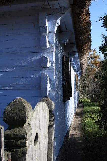 Rural cottage, Open Air Museum, Sierpc, Poland