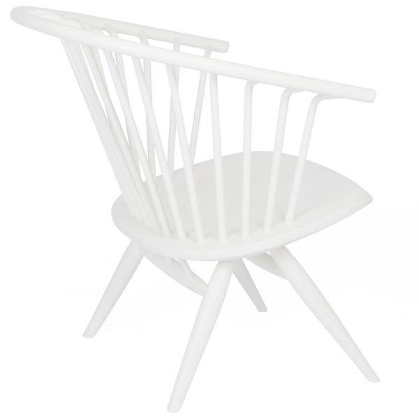 Crinolette chair, white, by Ilmari Tapiovaara.