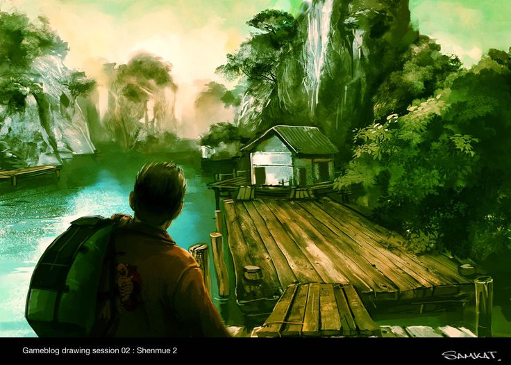 Shenmue 2 Artwork by Samkaat
