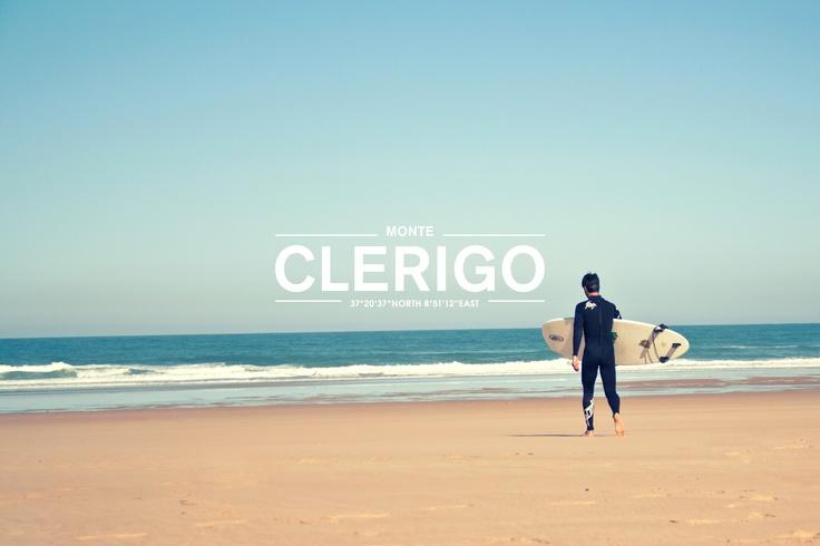 Portugal Algarve Praja Monte Clerigo